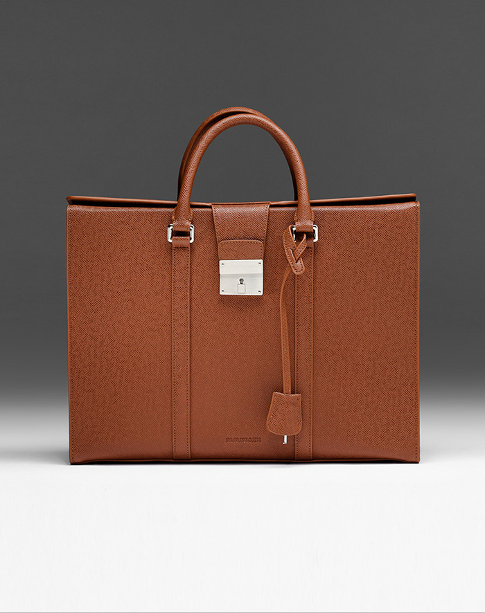 엠비지오네 CITY_R TOTE(BROWN)